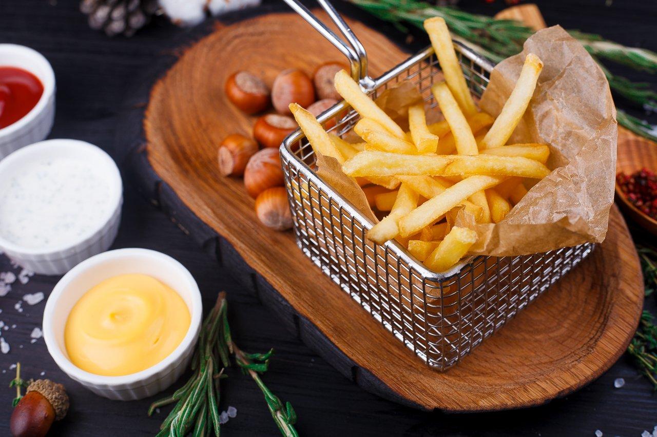 Картофель фри в домашних условиях - пошаговый рецепт с 46