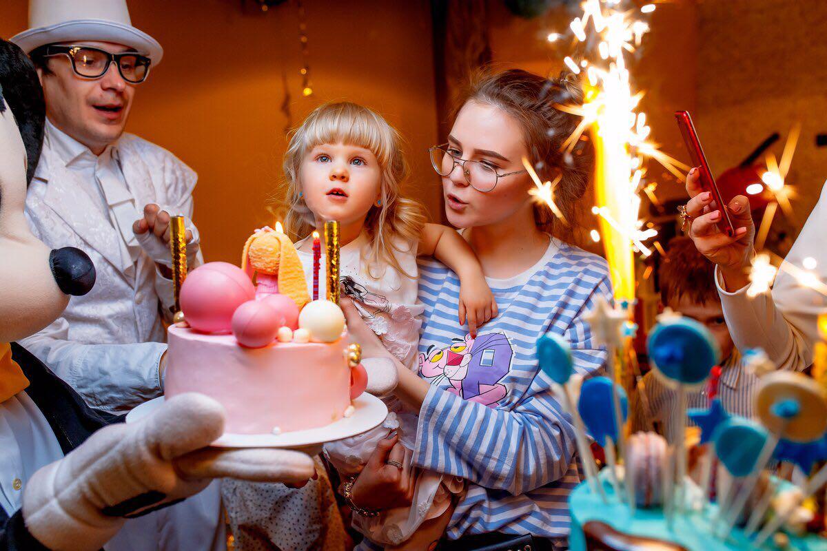 Детские праздники в КингКонгПицца