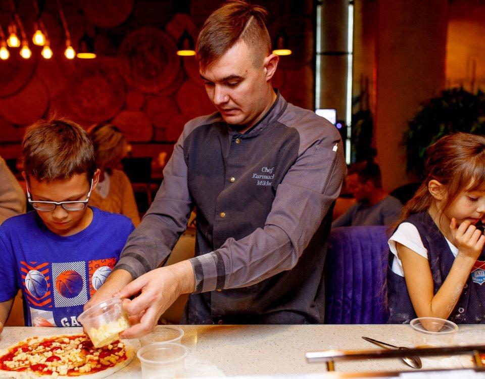 Мастер класс по приготовлению Пиццы