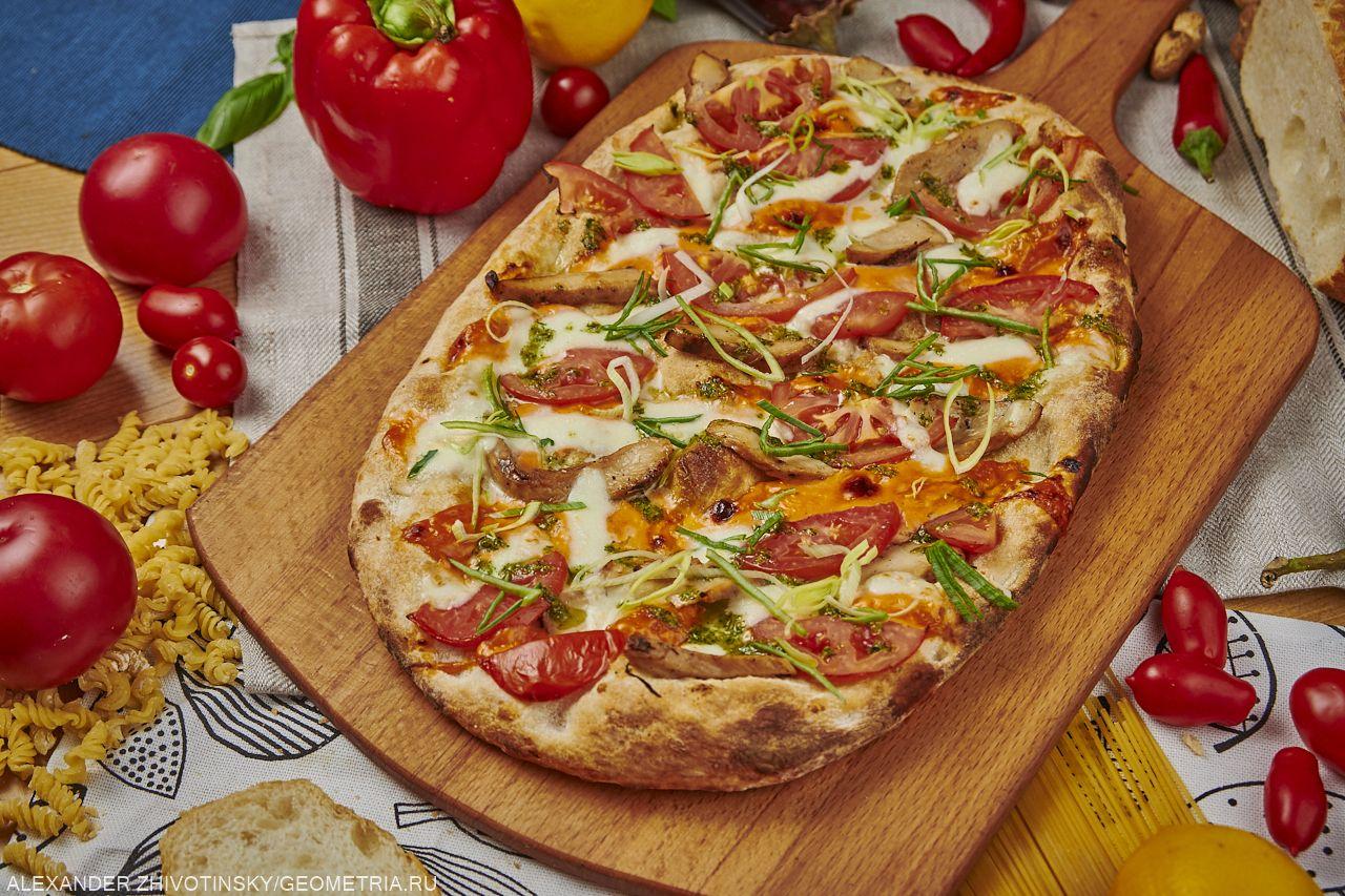 Римская пицца сицилийская
