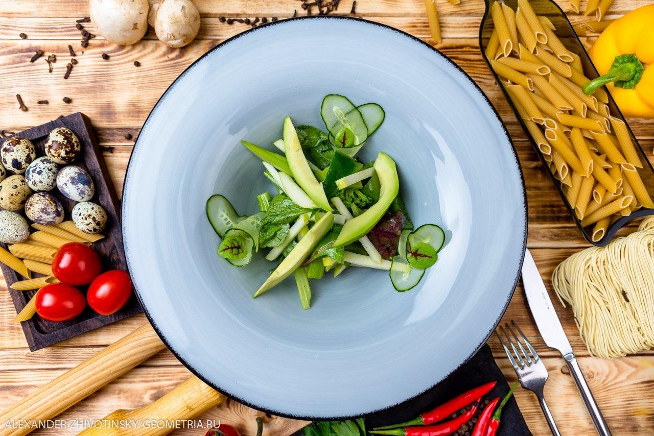 Салат 7 оттенков зеленого