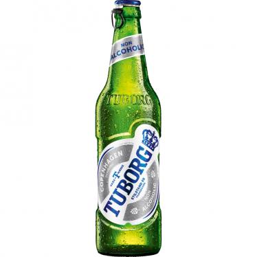 Пиво бутылочное Туборг безалкогольное