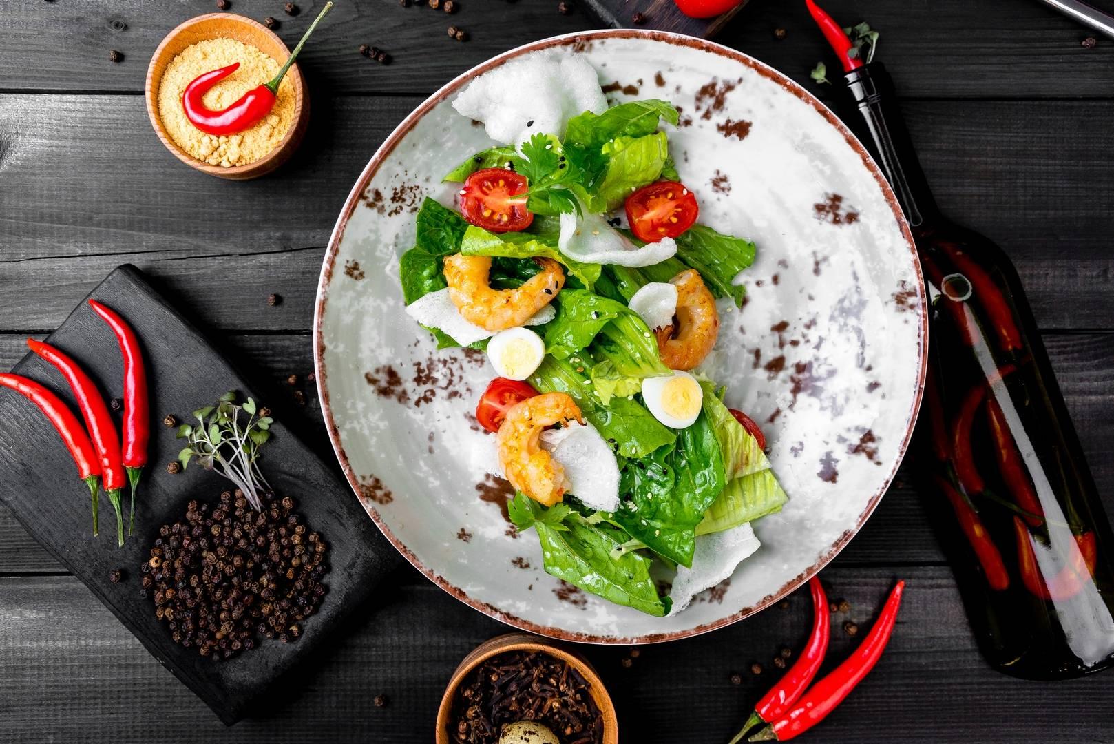 Сочный салат с Чуккой