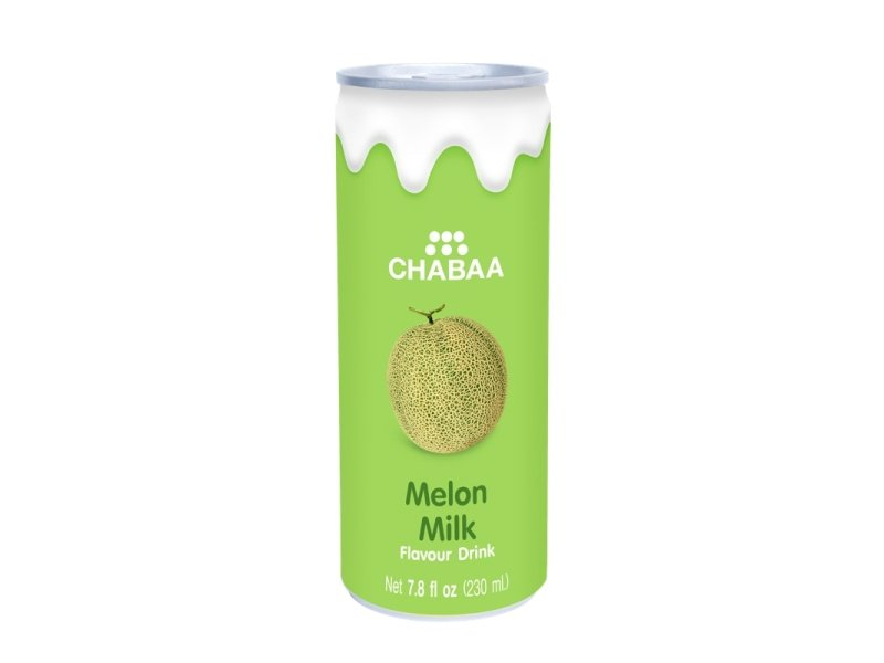 Напиток с соком дыни и молока CHABAA