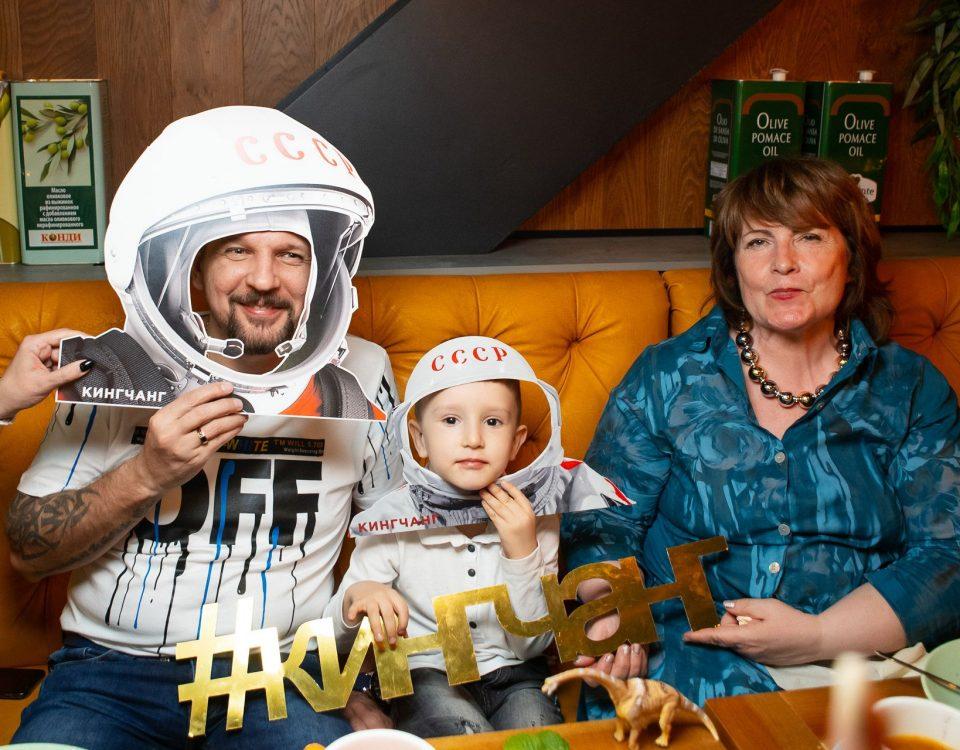 День космонавтики в КИНГЧАНГ