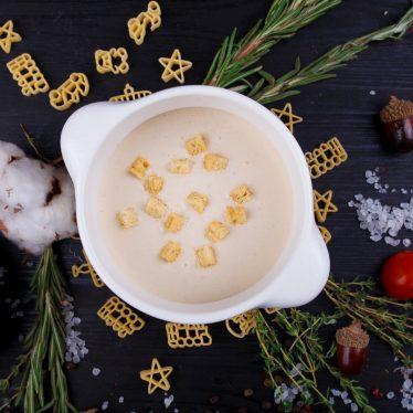 Сливочный суп-крем из картофеля