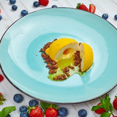 Пирожное лимон