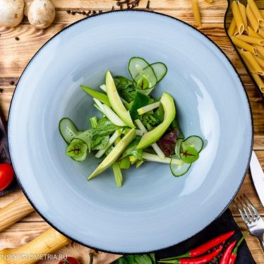 Салат 7 оттенков зеленого.