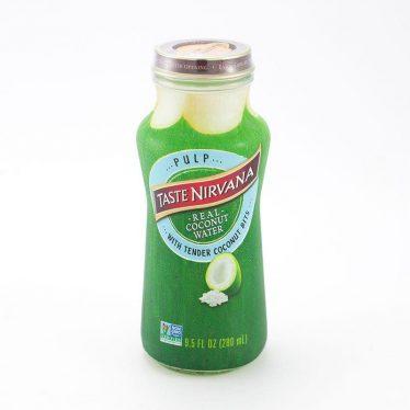 Кокосовая вода тейст нирвана с мякотью бут. 280мл