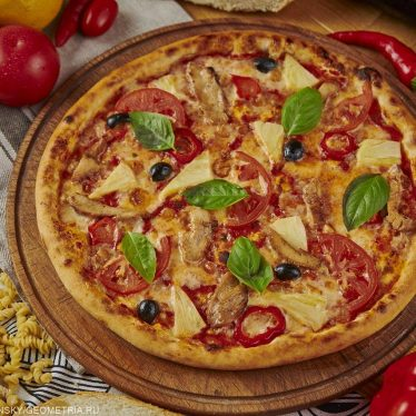 Римская Пицца Гавайская 35см.