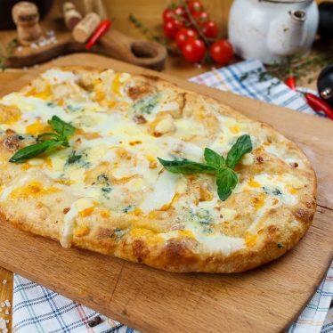 Римская пицца 4 сыра 35см.