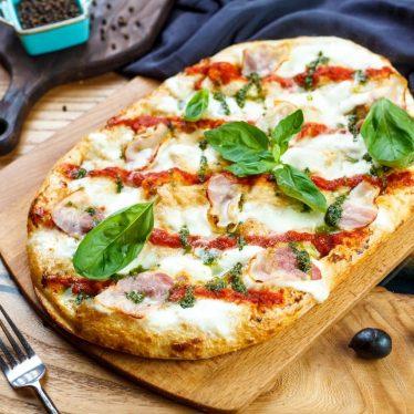 Пицца римская с беконом 35см