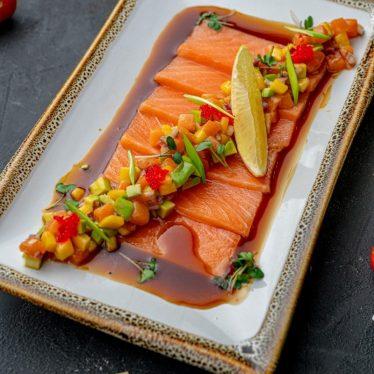 -Карпачо из лосося