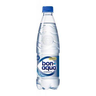 Вода Бон Аква с газом 500 мл