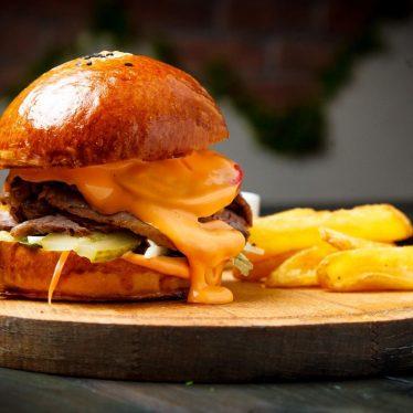 -Бургер с брискетом из говядины