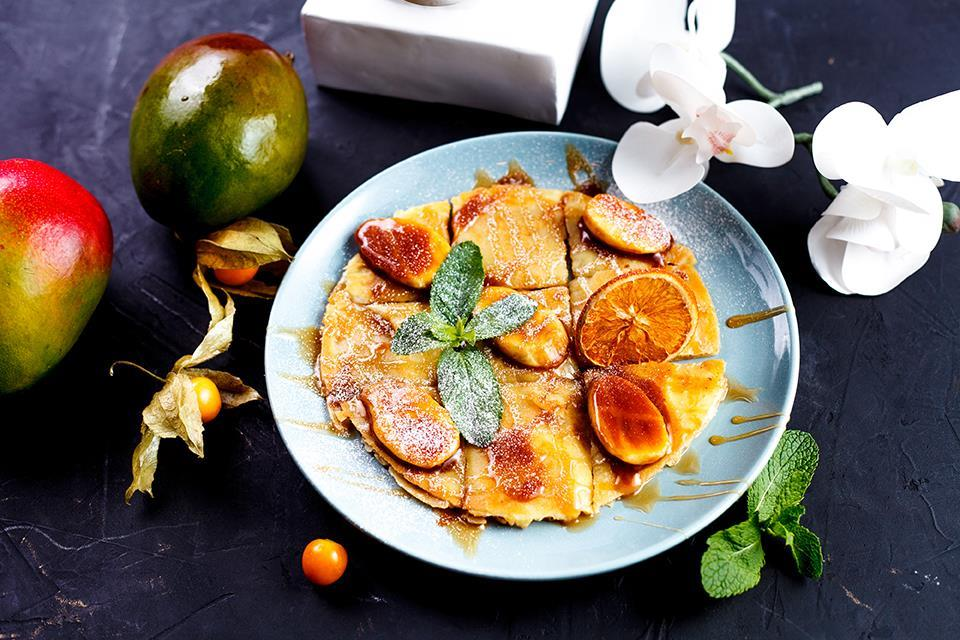 Тайский блин с бананом